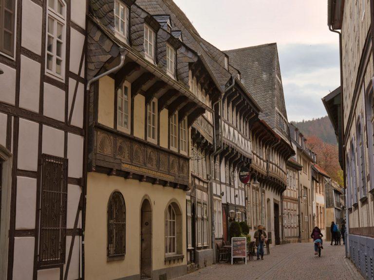 Goslar - Blick in die Worthstraße