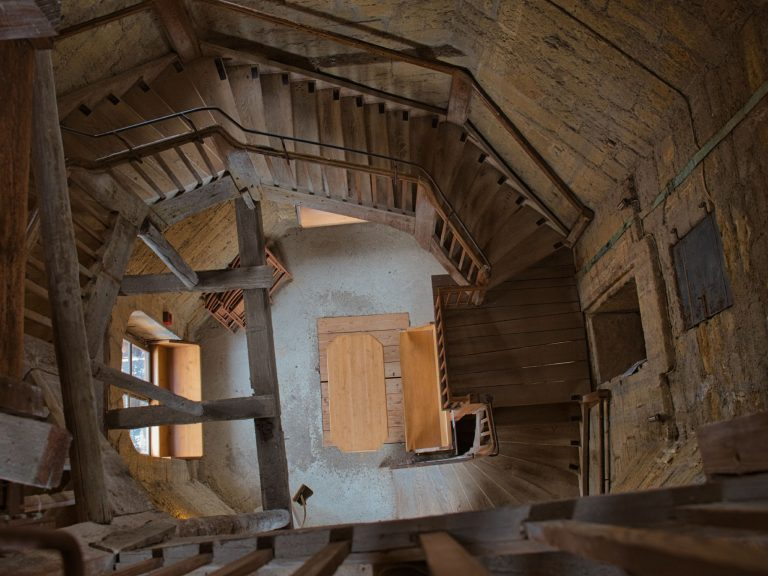 Goslar - Turmbesteigung Marktkirche - Treppe
