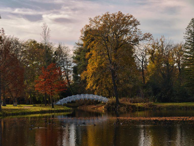 Weiße Brücke am Kleinen Walloch