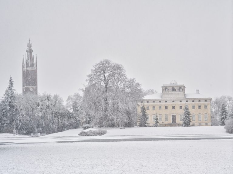 Schloss Wörlitz - Rückseite