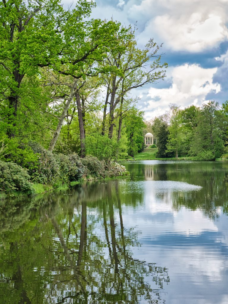 Wörlitz im Mai