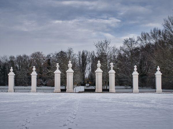 Winter im Schlosspark Mosigkau