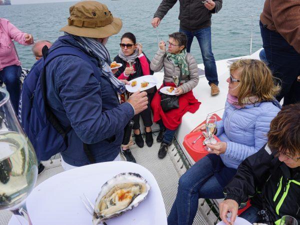 Walfischbay - Austernessen auf dem Katamaran