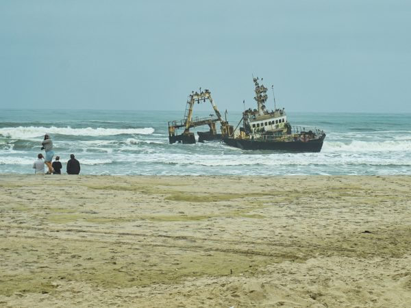 Henties Bay - gestrandeter Trawler