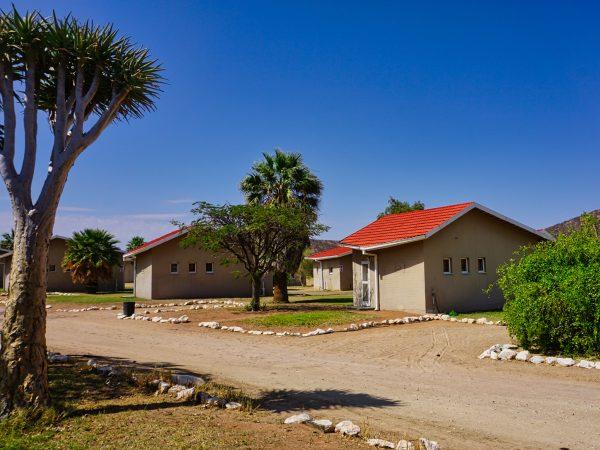 Khorixas Rest Camp - Unsere Bungalows