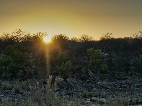 Khorixas Rest Camp - Sonnenaufgang